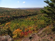 Brockway Mountain Drive - Copper Harbor Gallery: Fall