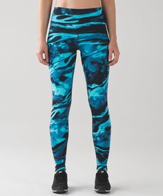 Wunder Under Pant (Hi-Rise) ENGINEERED PRINT NULUX  $128.00 USD  flux wunder under 50g multi black