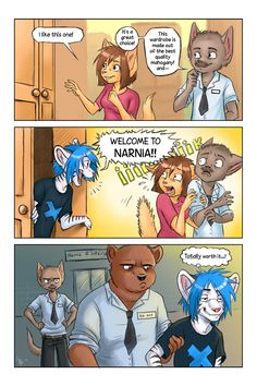 comic - Narnia by oomizuao.deviantart.com on @deviantART