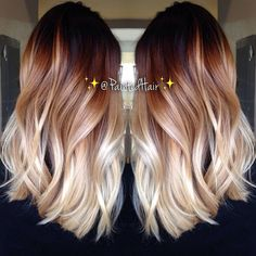 Love this hairstyle #Ombre