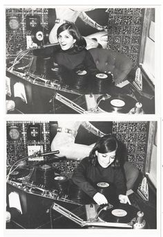"""rosamour:  Ubiquity Records 60s Mod San Francisco DJ Courtesy of Cool Chris (Groove Merchant Records)  """