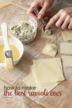 Here's how to make a delicious ravioli dinner at home.