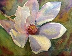 An Hour To Paint: Day 28 - Japanese Magnolia