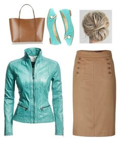 """""""Untitled #11"""" by bethanybman on Polyvore featuring Marc by Marc Jacobs, Danier, Dolce&Gabbana and Bella Marie"""