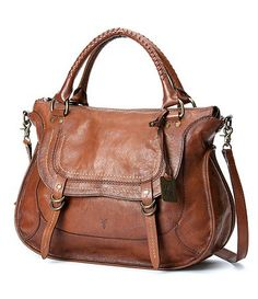 Available at Dillards.com  Second favorite Frye bag