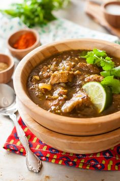 You will love the flavor of this pork chile verde recipe. I love to get it started the night before and then start it in the crock pot in the morning.