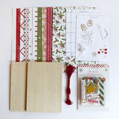 Wedding or greeting card keepsake album coptic bound book wedding coptic bookbinding class yuletide kit by pagebypaige on etsy m4hsunfo