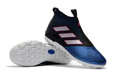 adidas ACE Tango 17+ Purecontrol TF - Core Black White Blue Nike Soccer 3297019c859