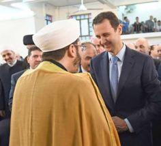 دیکتاتور سوریه برخلاف ایران،همزمان با عربستان سعودی به استقبال عید رفت
