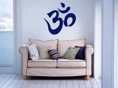 Housewares Wall Vinyl Decal Om Symbol Buddha by SuperVinylDecal, $24.99