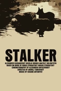 Tarkovsky's Movie Poster Set Solaris / Stalker / by FunnyFaceArt, $19.00