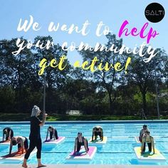"""... water 💦💪 on Instagram  """"We want to help tackle the nation wide issue  of low participation in physical activity. As a nation of sport and water  lovers 245891a160e"""