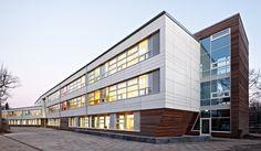 School in Hamburg. Trapez Architektur. EQUITONE facade materials. Equitone.com