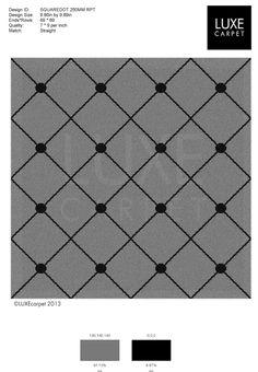 patterned carpet - square dot Carpet Squares, Carpet Manufacturers, Carpet Samples, Patterned Carpet, Contemporary Design, Floors, Dots, Walls, Home Tiles