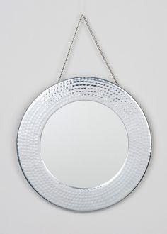 Bathroom Hanging Mirror (30cm x 30cm) - Matalan