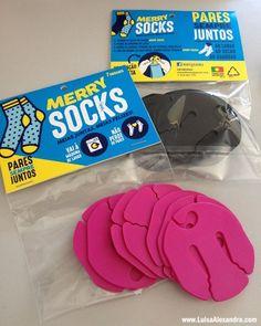 Merry Socks • Cabide para Meias [Novas Cores] - http://gostinhos.com/merry-socks-%e2%80%a2-cabide-para-meias-novas-cores/