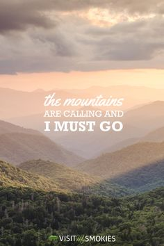 The Smoky Mountains are calling!