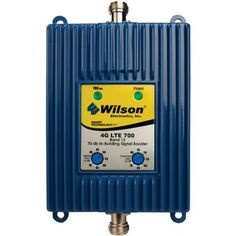 Wilson Electronics 4G-V LTE Antenna Booster - Retail Packaging - Royal Blue