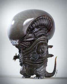 Hoyi's Art Blog: BoB Alien