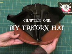 DIY Tricorn Hat Pirate Cosplay Instructions