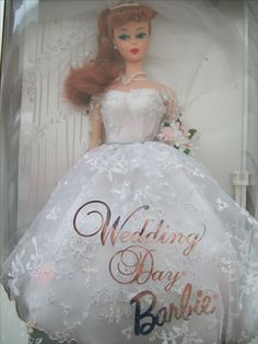 Wedding Day Barbie Reproduction 1961 (1996)