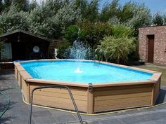 Local Technique, Tub, Outdoor Decor, Design, Piscine Hors Sol, Swimming Pool Kits, Recycled Products, Bathtubs