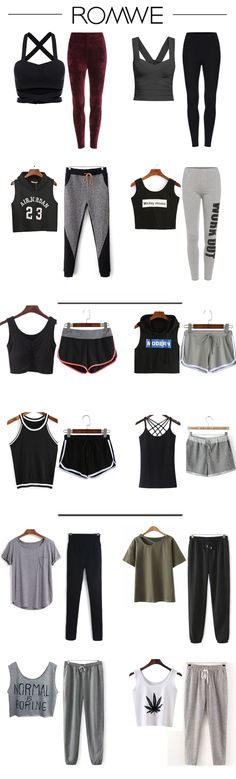 Keep yourself in shape and be in good condition. You will benefit much more from proper exercise. Fitting sportswear is the key to exercise well. Here are some casual for you. From US$5.99.