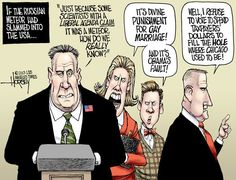 Los Angeles Times' David Horsey asks how deniers would act if the Russian meteor had hit the U.S.