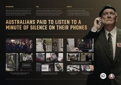 Minute of Silence | Advertising and Design for Humanitarian Aid Inspiration | Award-winning creative social good campaigns | Veteran charity fundraiser | D&AD Impact