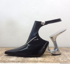 Shoe designer and artist René van den Berg has made special shoes for years, all…