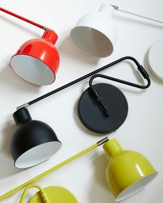 Add character to any room with these wall-mounted lamps in several colours. In stores now. Price DKK 248,00 / SEK 337,00 / NOK 349,00 / EUR 34,68 / ISK 6798 / GBP 28,79  Light bulb A++ to C.  NB! The lamps are not available for purchase in Ireland and UK.  Søstrene Grene's interior catalogue is available online on www.sostrenegrene.com. You can find the link in the bio.  #lamps #walllamps #newcollection #inspiration #sostrenegrene #søstrenegrene #grenehome
