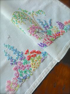 Check out this item in my Etsy shop https://www.etsy.com/uk/listing/522080388/hand-embroidered-vintage-cottage-garden