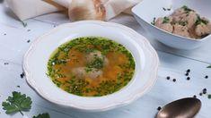 Egyszerű zöldségleves házi májgaluskával Lorraine, Palak Paneer, Quiche, Ethnic Recipes, Food, Youtube, Essen, Quiches, Meals