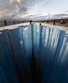 Sidewalk art - Edgar Mueller