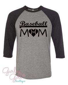 A personal favorite from my Etsy shop https://www.etsy.com/listing/487561079/baseball-mom-personalized-shirt