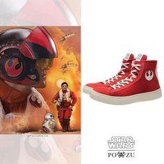 348eedf46d56 Po-Zu x Star Wars The Force Awakens Resistance Poe Dameron sneakers  footwear shoes ⭐ Star Wars fashion ⭐ Geek Fashion ⭐ Star Wars Style ⭐ Geek  ...