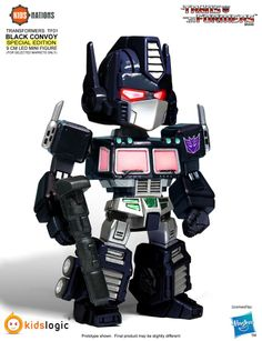 Transformers News: Official Images of Kids Logic Transformers Kids Nations Series TF01