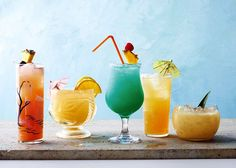 The Seattle Times: Recipes for tropical drinks: Singapore Sling, Mai Tai and Recipe Application, Tropical Drink Recipes, Strawberry Guava, Caribbean Party, Cocktail Umbrellas, Cherry Brandy, Make Simple Syrup, Mai Tai, Oranges And Lemons