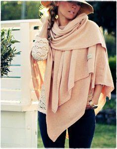 Kalastajan vaimo blog and By Pias poncho +scarf
