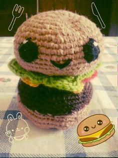Hamburger amigurumi