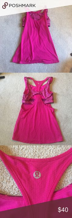 Lululemon size 6 I have matching crops! Check them out too! lululemon athletica Tops Tank Tops