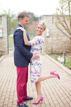 Kentucky Derby looks for couples on Sophisticaited blog by Cait Fore