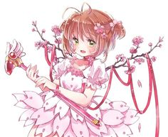 Sakura Card Captor por en We Heart It Cardcaptor Sakura, Sakura Card Captor, Syaoran, Sakura Sakura, All Anime, Manga Anime, Anime Art, Magical Girl, Sailor Moon