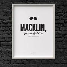 Printable Bert Macklin quote Parks and Recreation Digital File Download 8.5 x 11