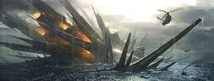concept ships: Spaceship art by Emmanuel Shiu