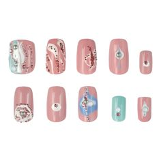 Crystal Pixie CANDY LAND - SI te consideras una chica dulce, aquí tienes algunas ideas para decorar tus uñas.