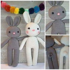 Free Crochet Pattern Bunny Amigurumi