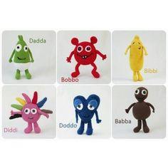 My cake dish - Patterns Diy Crochet, Crochet Dolls, Crochet Baby, Crochet Ideas, Baby Knitting Patterns, Crochet Patterns, Baby Barn, Baby Converse, Crochet Animals