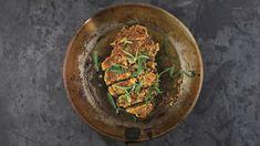 Julestek av østerssopp Ethnic Recipes, Food, Vegans, Essen, Meals, Yemek, Eten