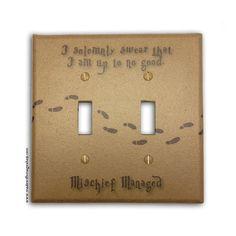 Harry Potter light switch.